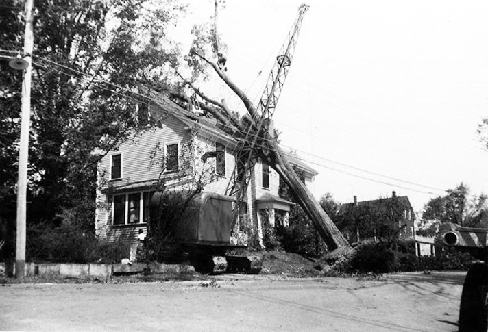 East St. house, after storm
