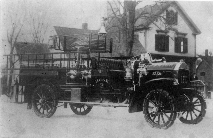 Lords Square fire truck