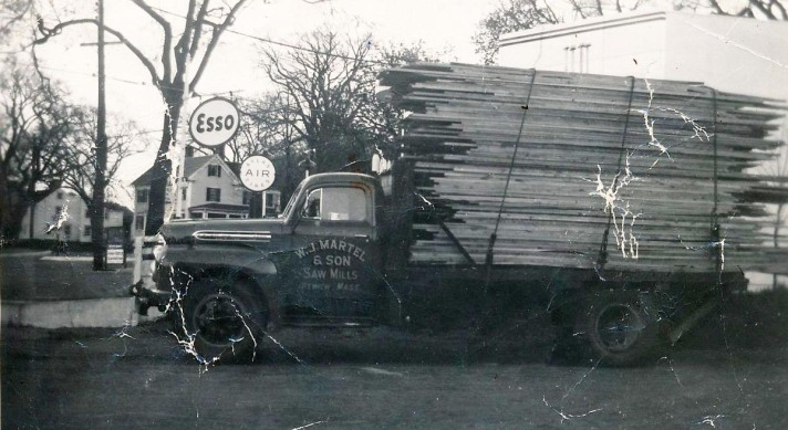 Lords Square lumber truck
