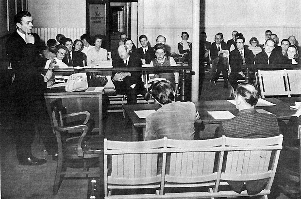 Public meeting of the Nuclear Advisory Commission in Ipswich April 10, 1970.