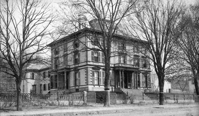 The old pillow lace factory on High St. was converted into a residence known as the Ross Mansion. The building no longer stands.