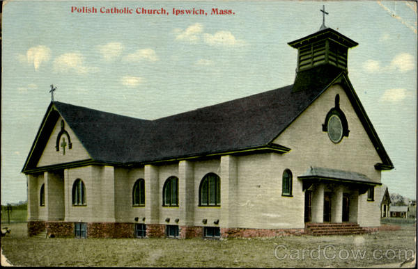 The former Sacred Heart Church on Topsfield Rd.