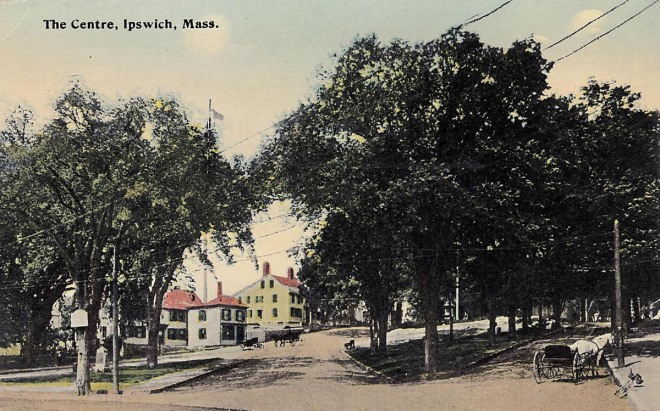 A postcard of the same view