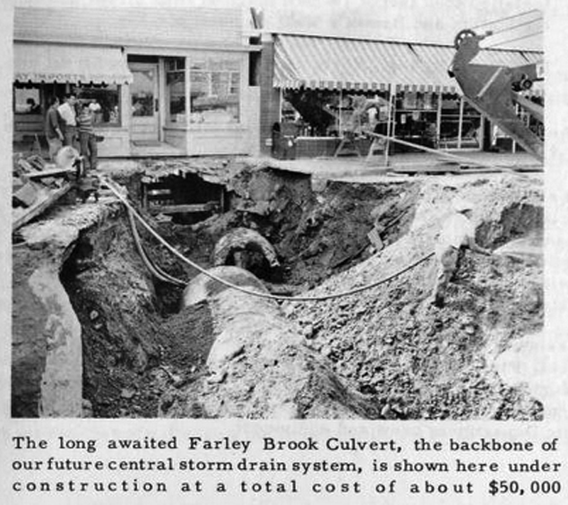 1961: Open sewer? No problem.