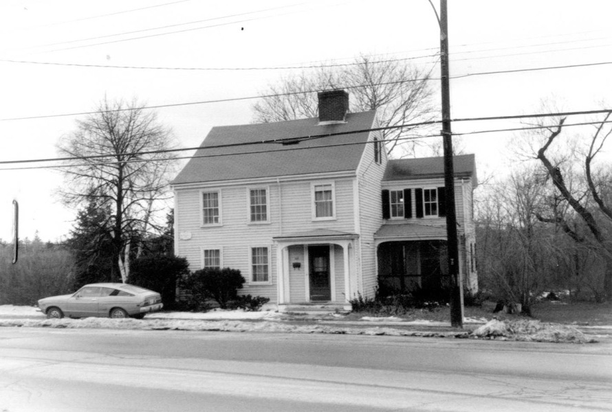 The Dow-Harris house in 1980.