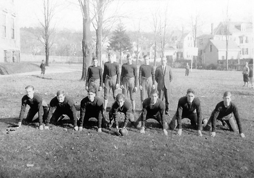 Football in Ipswich MA in the early 20th Century