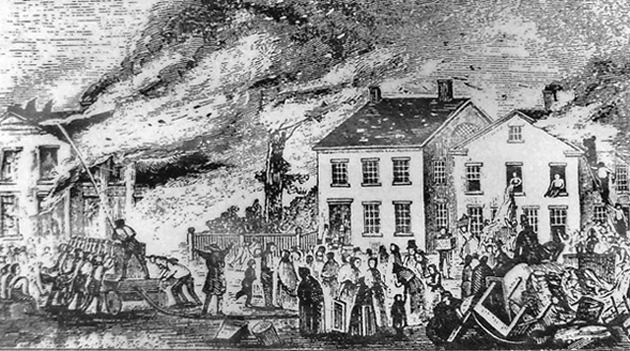 The Great Newburyport fire, May 31, 1811