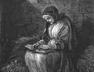 Rachel Clinton was accused of witchcraft,  arrested and jailed.
