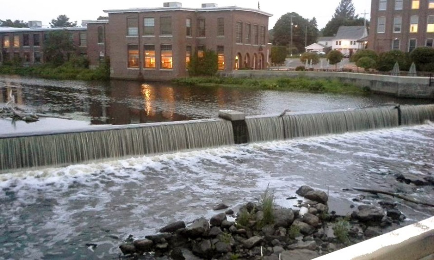 The Ipswich Mills Dam, 2014. Photo by Glenn Harris