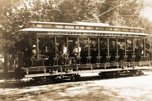 Georgetown-Ipswich trolley