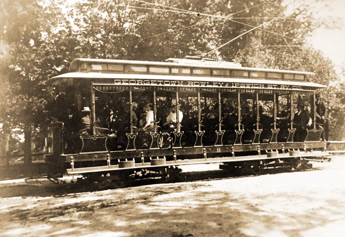 The trolley comes to Ipswich, June 26, 1896