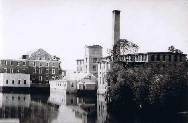 Ipswich Mills with the Old Stone Mill