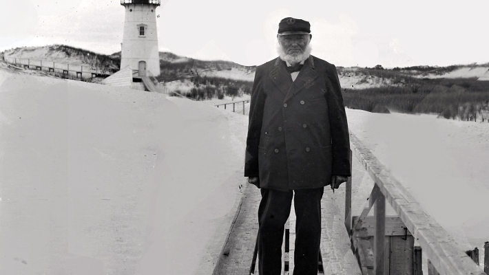 Benjamin Ellsworth at the Ipswich Lighthouse