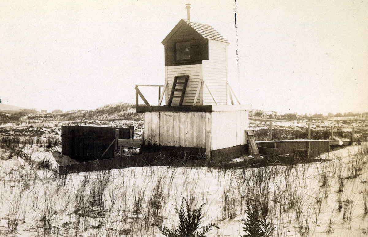Bug light at Crane Beach