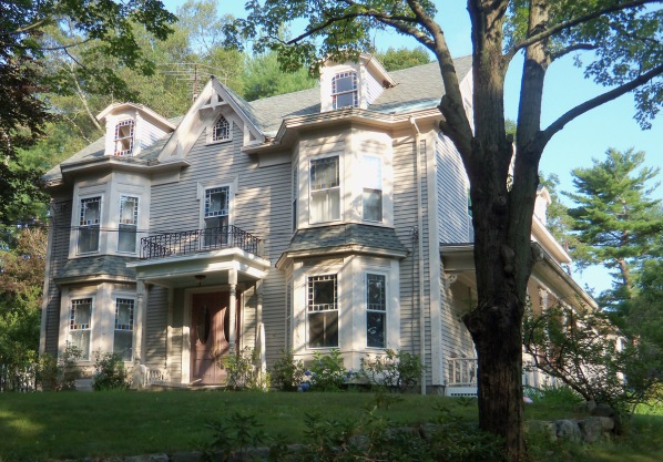 David and Elizabeth Perley house, built this Victorian house at 387 Linebrook Rd. in approximately 1880.