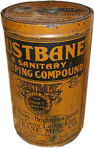 Dustbane cannister