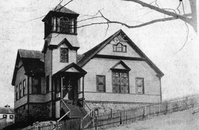 The former Immanuel Baptist Church on Central St.