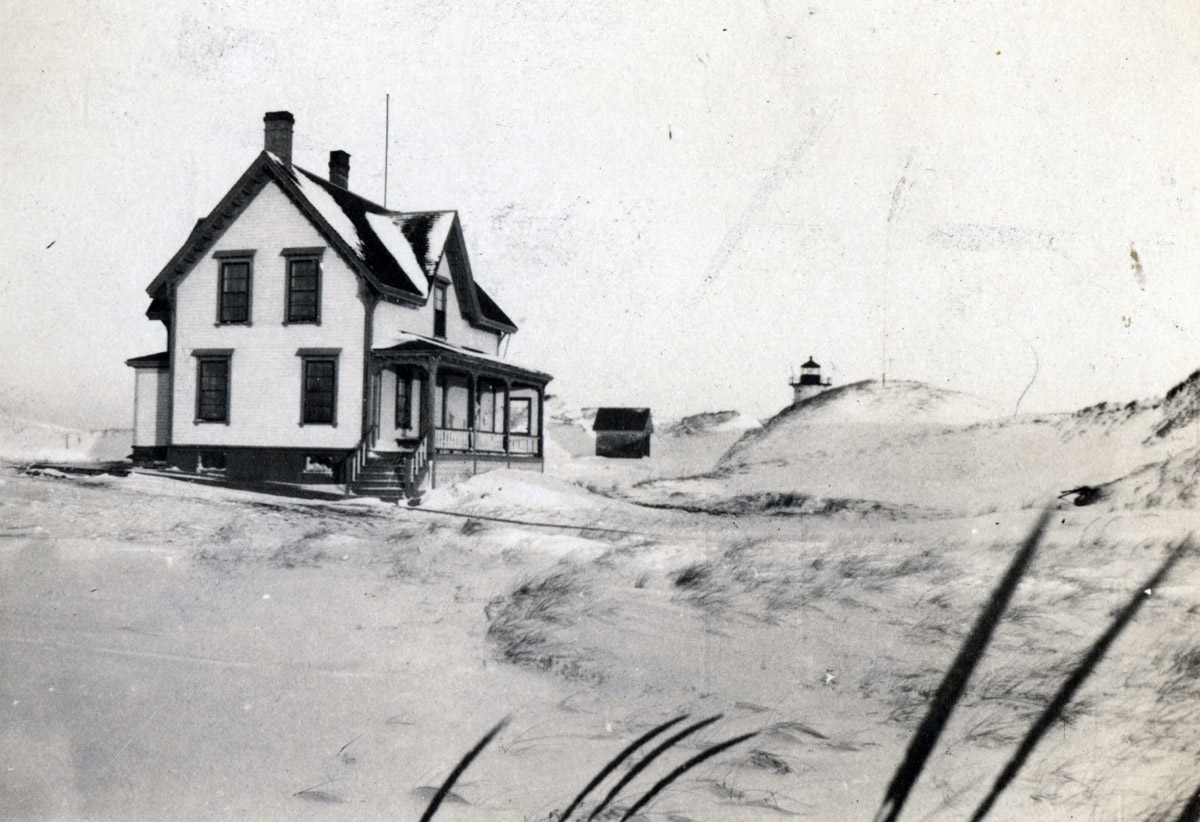 Ipswich Lighthouse keeper's house