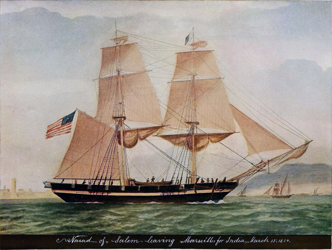 Legendary ships of Salem