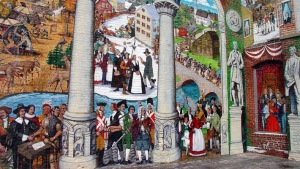 Ipswich Riverwalk Mural