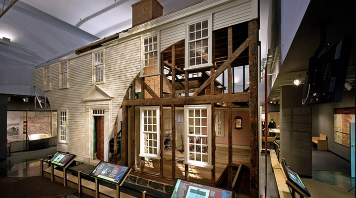 Ipswich MA 16 Elm Street house at the Smithsonian Museum