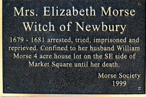 Elizabeth Morse Witch of Newbury