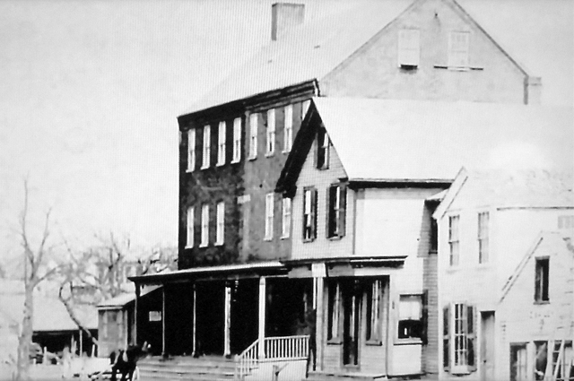 The Hayes Hotel building was constructed by the Peatfield brothers in 1865 as a manufacturing  facility for woolen goods.