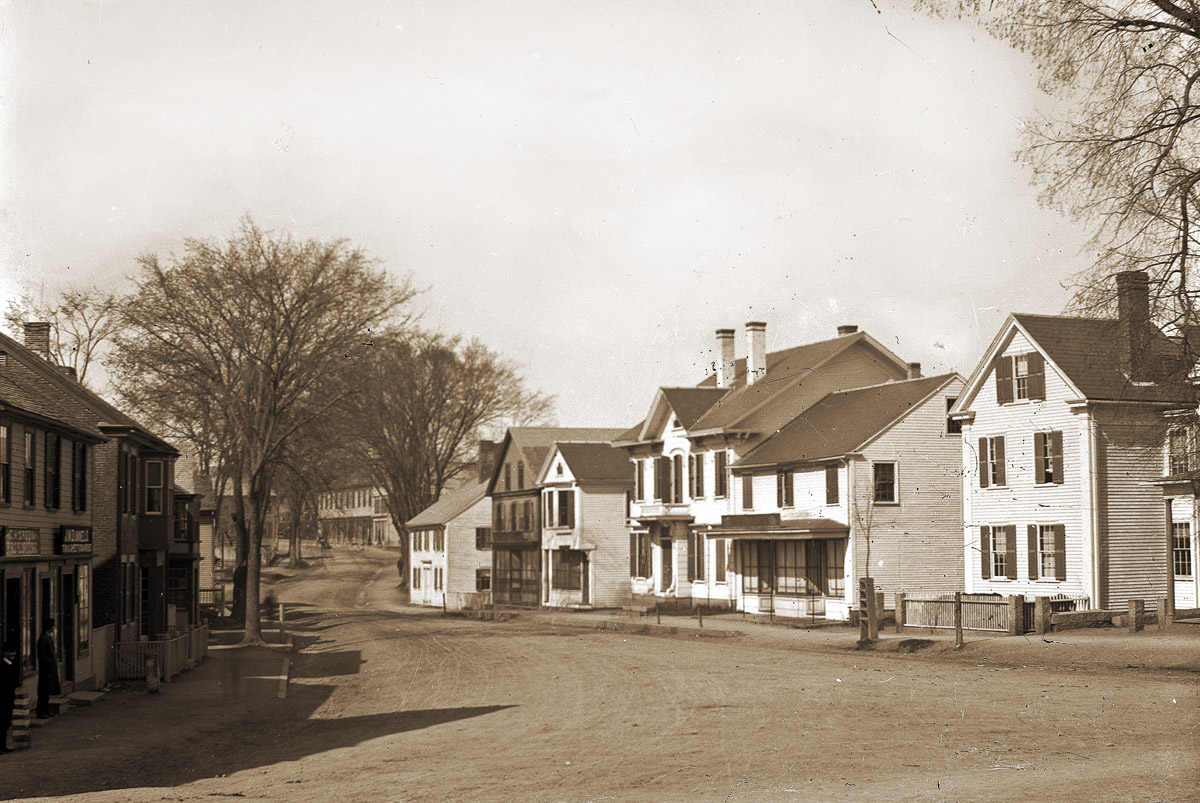 Market St. in the 1800s