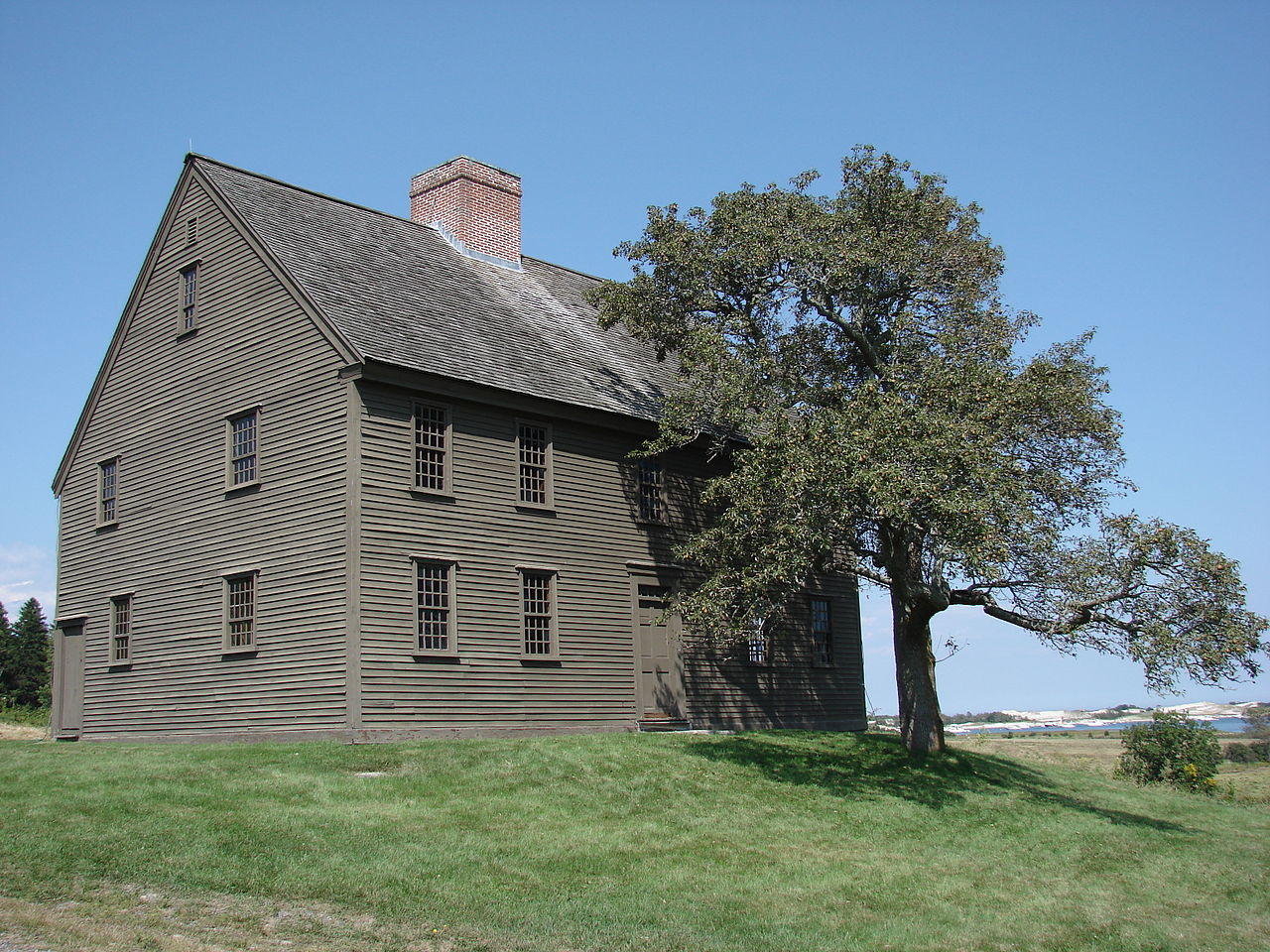 The Choate house on hog island