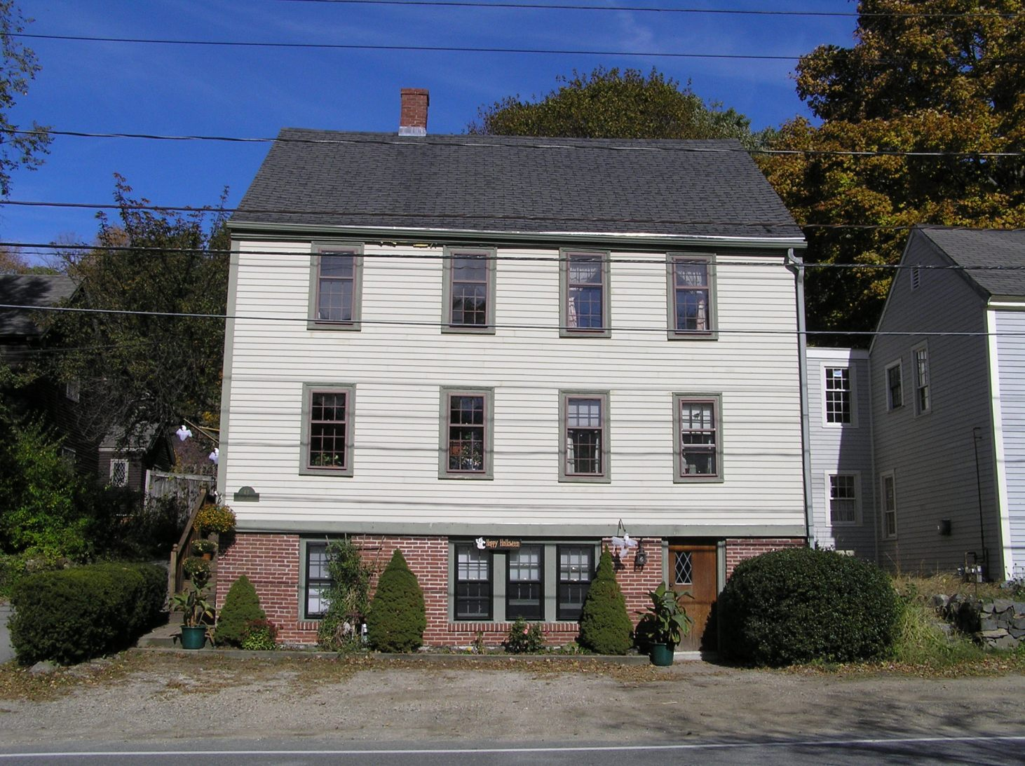 43 High Street, the Fitts- Manning-Tyler house (1767)