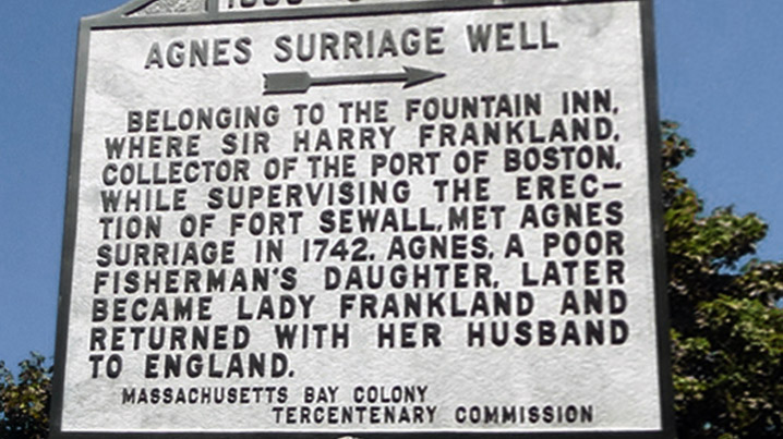 The story of Agnes Surriage, the Marblehead tavern maid