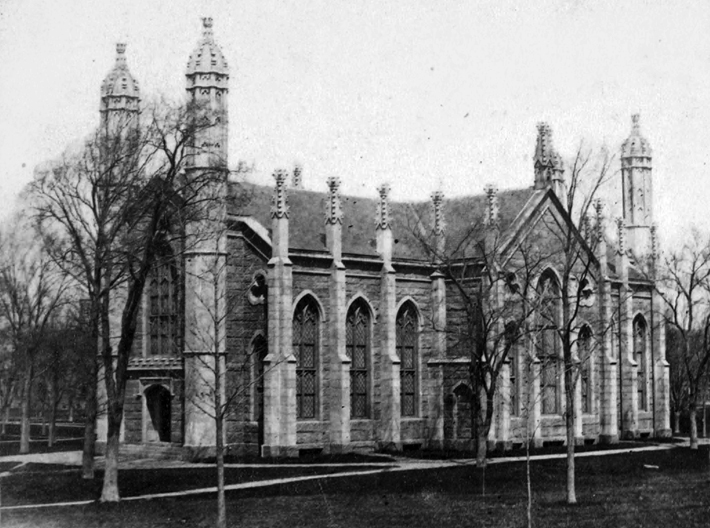 Gore Hall, the former Harvard library, was demolished in 1913.