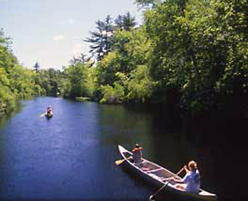 Canoe and kayak the Ipswich River