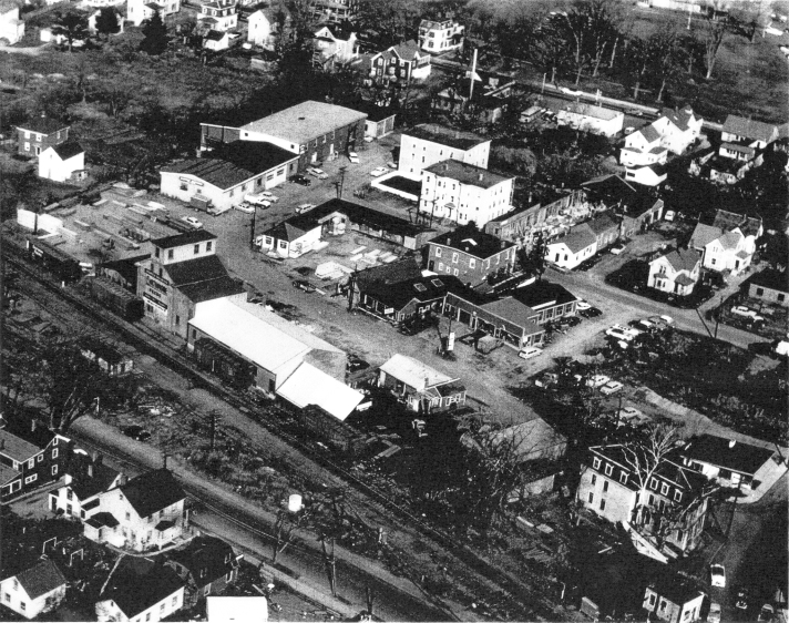 Brown Square circa 1950