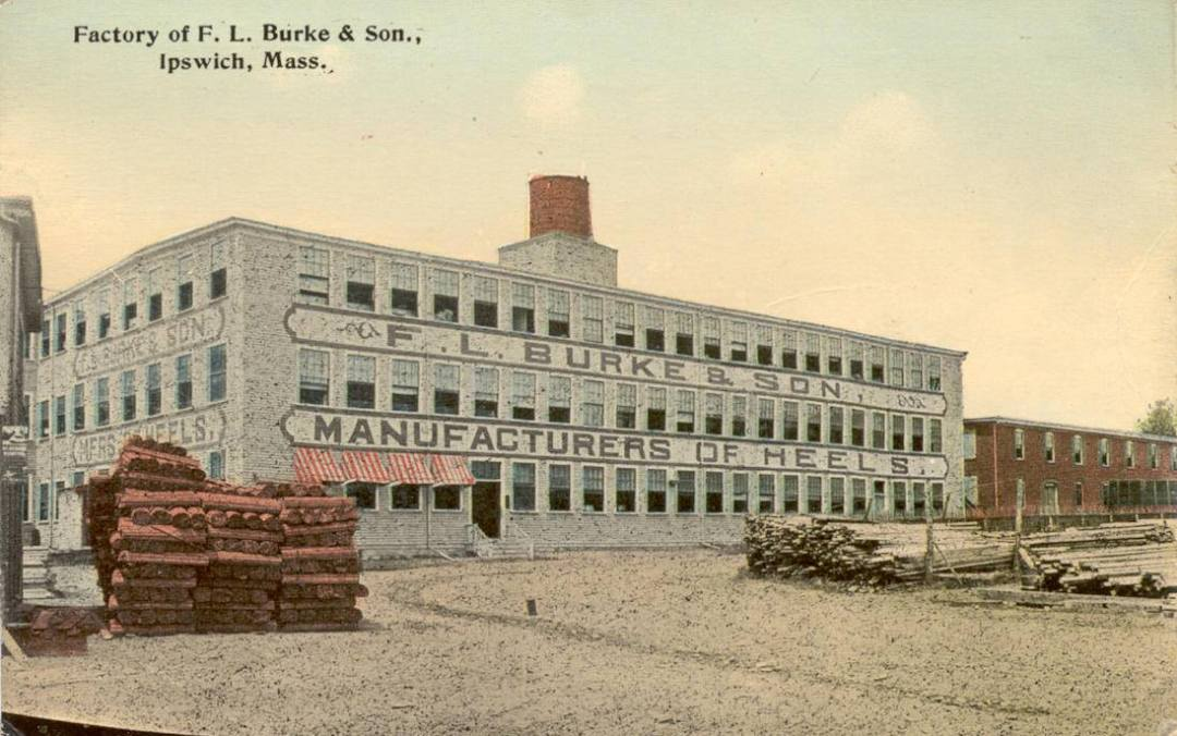 Burke Heel Factory, Brown's Square, Ipswich