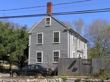 Nathaniel Wade house, 92 County Rd., constructed in 1810