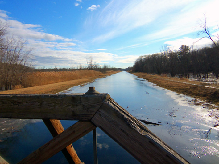 The Grand Wenham Canal and the Topsfield Linear Common