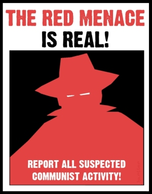 Red Scare poster