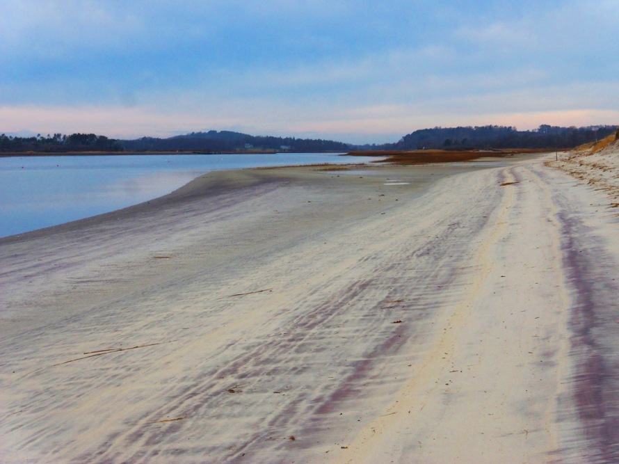Purple sand at Crane Beach