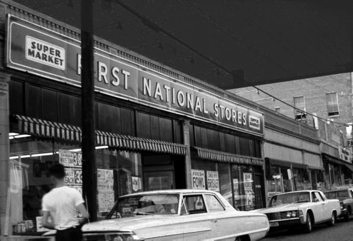 First National Store in Ipswich