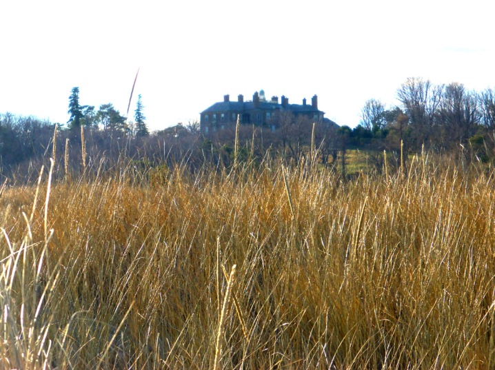 Crane Castle is in the distance