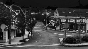 Ipswich MA after midnight by Gavin Keenan