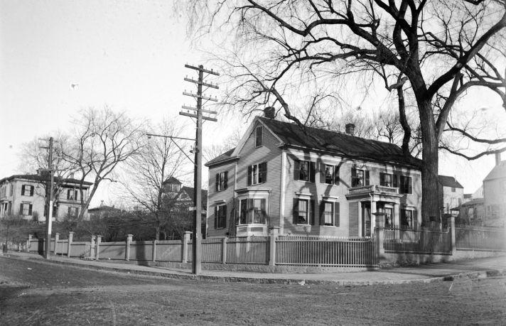 John Appleton house at the corner of N. Main and Central Streets