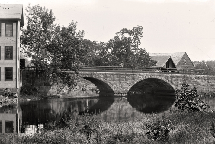 County St. bridge, Ipswich River
