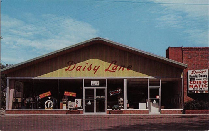 Daisy Lane Clearners, in the EBSCO parking lot