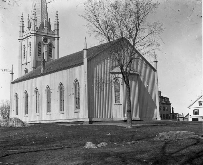 First Church (view from the rear) by George Dexter