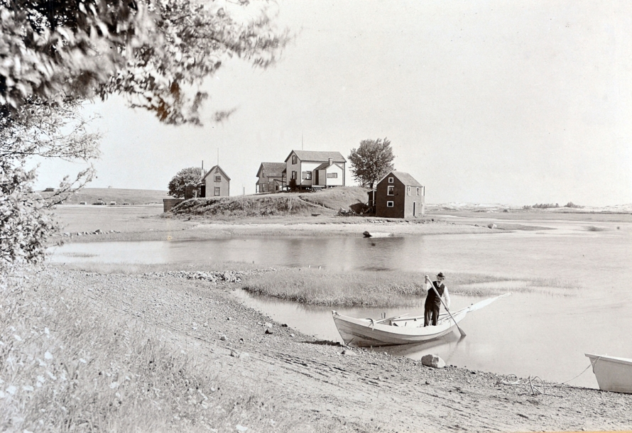 Photo of Fox Island by Edward Darling, from the collection of William J. Barton