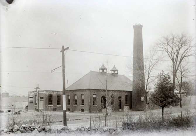 The Ipswich Municipal Plant on High Street, built in 1894