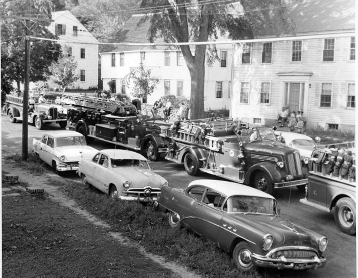 East St. parade, 1950's