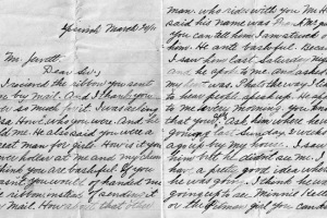 letter from an Ipswich mill girl
